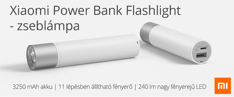 Xiaomi Power Bank Flashlight zseblámpa