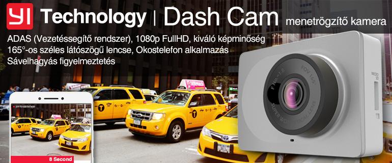 Xiaomi YI DASH CAM autós menetrögzítő kamera
