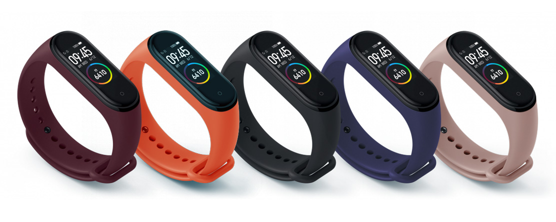 xiaomi mi band 3 4 gyari potpant colors
