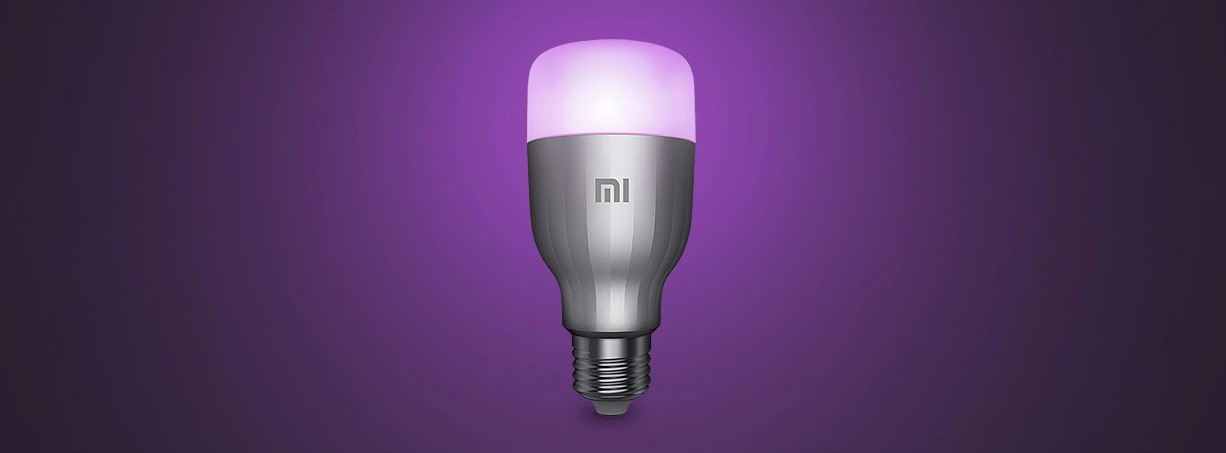 xiaomi mi led smart bulb rgbw okosizzo t02
