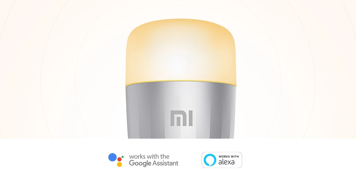 xiaomi mi led smart bulb rgbw okosizzo t07