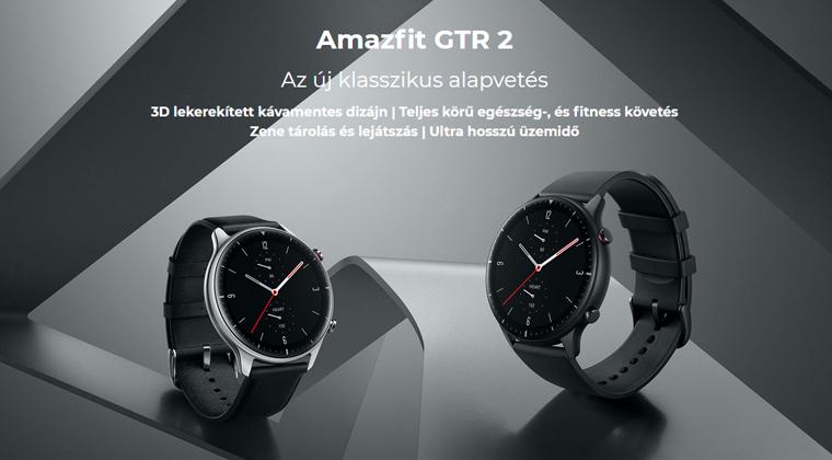 Xiaomi Amazfit GTR 2 okosóra - Sport Edition