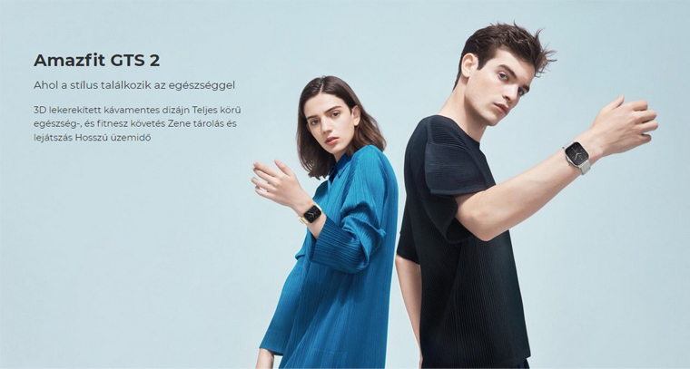 Xiaomi Amazfit GTS 2 okosóra