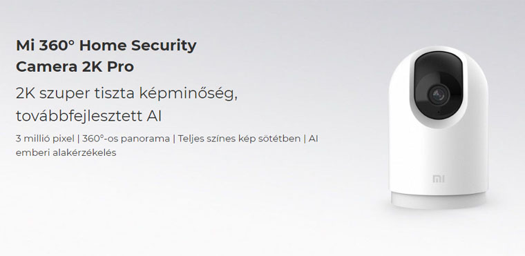 xiaomi mi 360 home security camera 2k pro t01