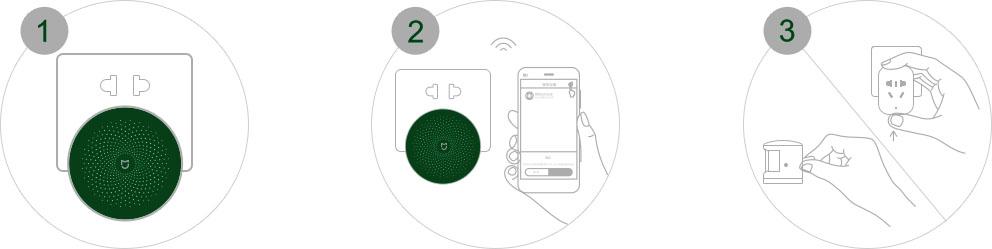 xiaomi mi smart sensor okosotthon set t16