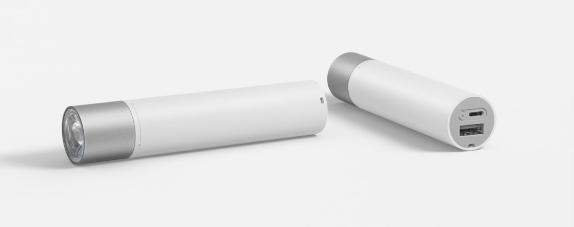 xiaomi power bank flashlight zseblampa t10