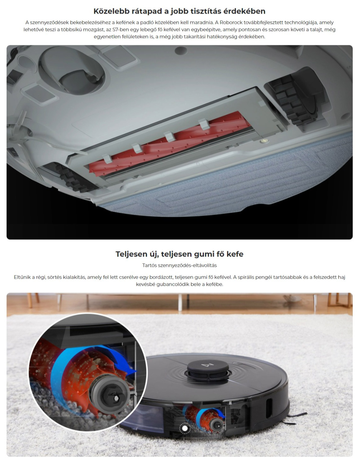 Xiaomi Roborock S7 Robotic Vacuum Cleaner porszívó