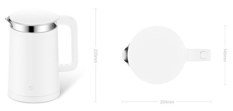 xiaomi vizforralo smart kettle tspec
