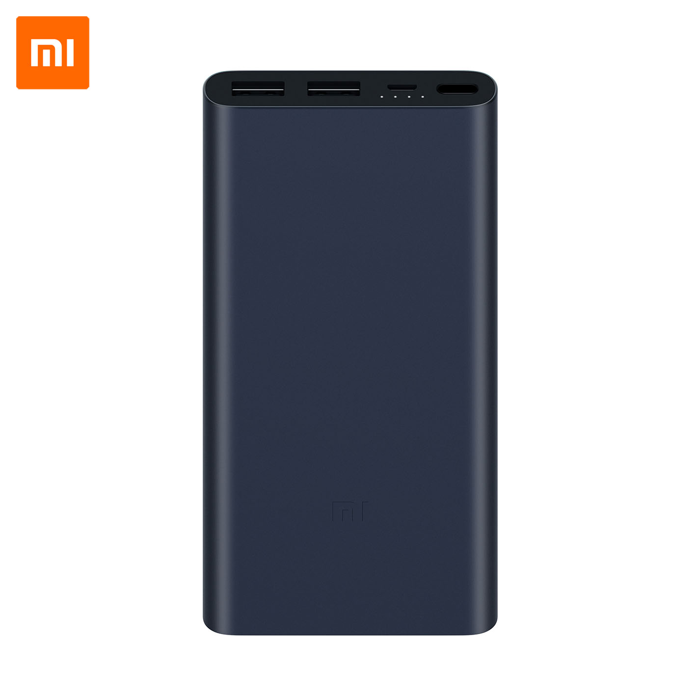 Xiaomi Mi Power Bank 2S 10000 mAh, QuickCharge 2.0  - FEKETE