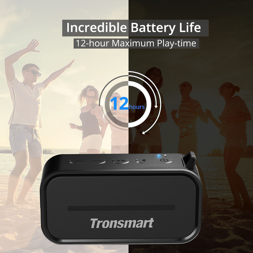 tronsmart element t2 vizallo bluetooth hangszoro 06
