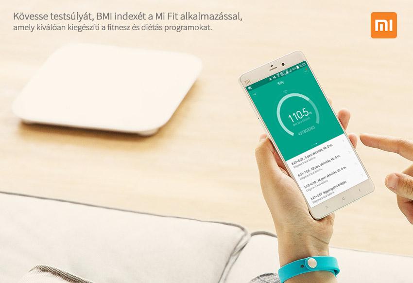 Xiaomi Smart Scale okosmérleg