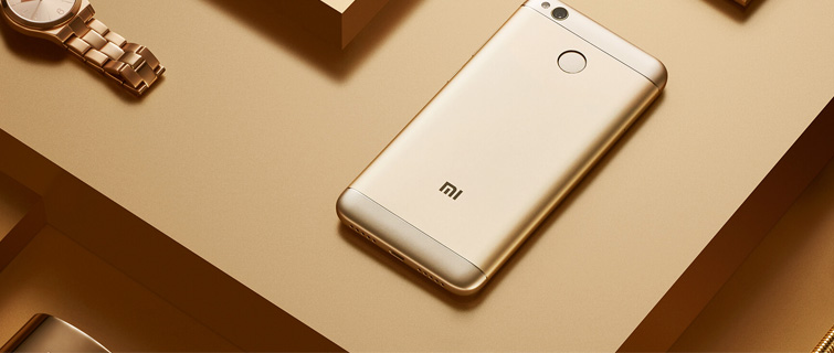 redmi 4x gold