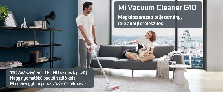 Xiaomi Mi Vacuum Cleaner G10 vezeték nélküli porszívó